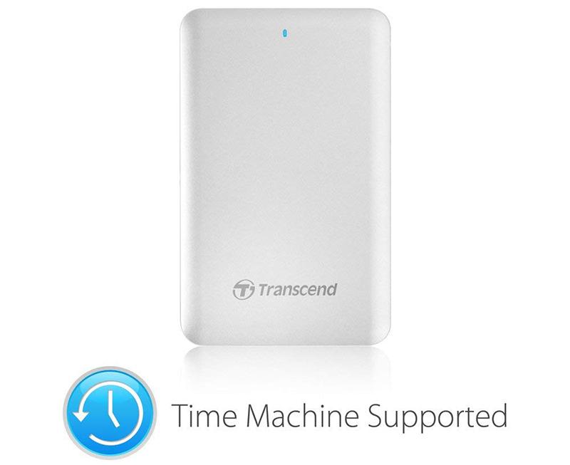 Transcend Disque dur Externe pour Mac 2 To USB 3.0 Thunderbolt TS2TSJM300