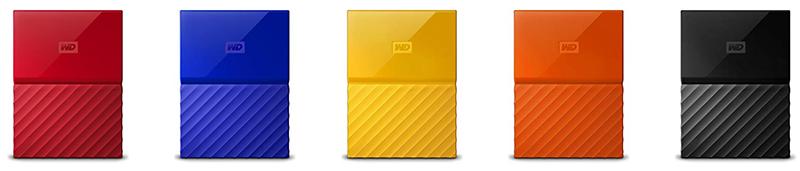 WD - My Passport - Disque dur externe portable USB 3.0
