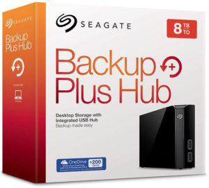Seagate 8 TB Backup Plus Hub USB 3.0 - Desktop