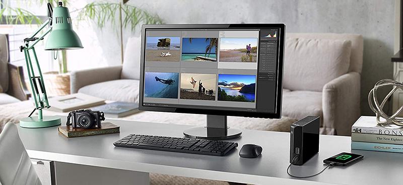Seagate 8 TB Backup Plus Hub USB 3.0 Desktop - Disque dur externe pour PC et Mac