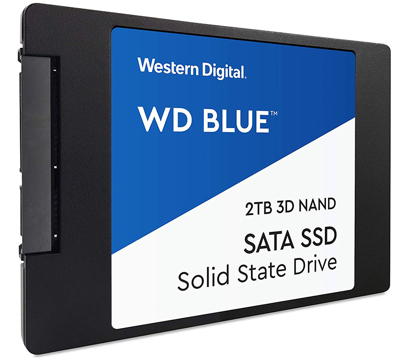 Western Digital WDS500G2B0A WD Blue 500GB 3D NAND Internal