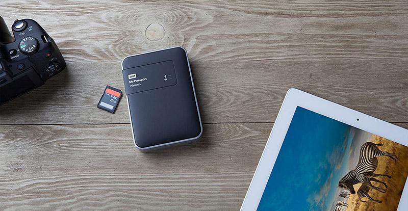 Test du WD My Passport Wireless Disque Dur Externe Portable 1 To - WIFI USB 3.0