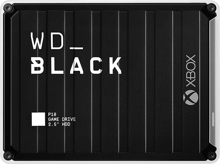 Test WD_Black P10 for Xbox 3To - Disque dur portable externe pour Xbox One