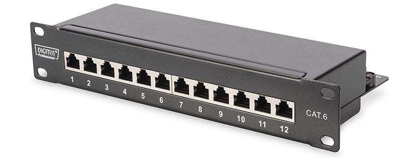 Avis DIGITUS LSA Patch-Panel Cat-6 - 12 ports - rack 10 pouces - 1 U