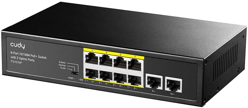 test - Cudy FS1010P Switch 10