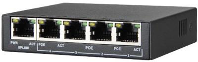 test - PoE Switch PS504 – Mini Switch PoE
